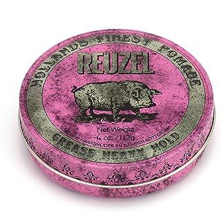 reuzel 粉红色重 grease 4 盎司