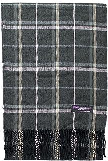2PLY * 羊绒围巾优雅系列苏格兰羊毛新罗瓦格子花呢