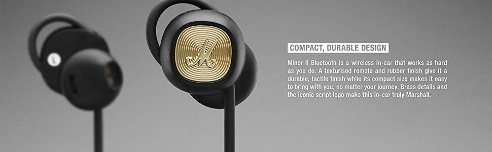 Compact headphones