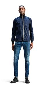 slim fit jeans mens jean jens casual men pants jeans trousers blue skinny black stretch
