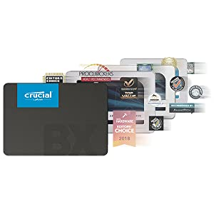 Crucial BX500 SSD awards