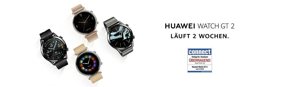 huawei watch gt 2; 2 wochen laufzeit; smartwatch; digitaluhr; sportuhr; sport watch