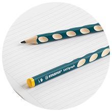 STABILO, graphite, pencil, pencil case, handwriting, handwriting pencils, grip moulds, left handers