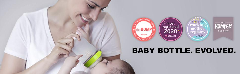 Baby Bottle. Evolved. The little bottle that changed the feeding game.