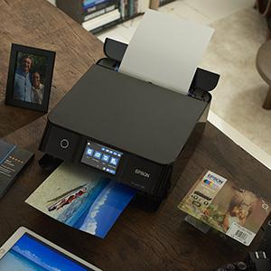 xp-8600, photo printing, home printing, home printer, expression photo, epson, claria ink, cartridge