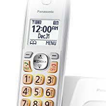 Panasonic KX-TGD533W improved display