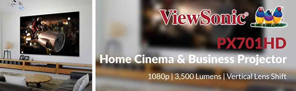 viewsonic projector home cinema business