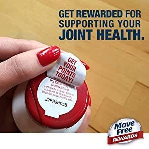 coupons, MoveFree rewards, points, bonus, savings, club, loyalty program
