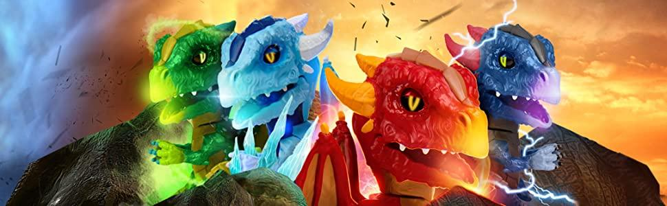 Untamed Dragons Interactive Toy How to Tame your Dragon