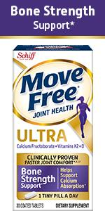 Move Free Ultra Plus Bone Strength Clinically Proven