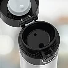 Thermos flip lid