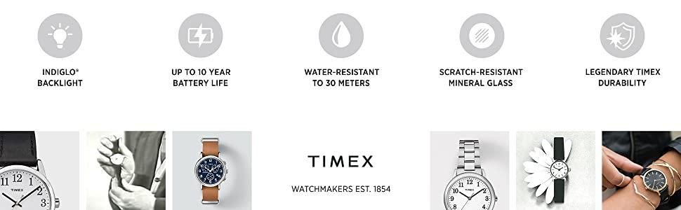 timex, weekender, interchangeable straps, indiglo