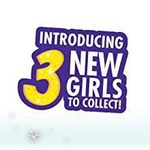 Introducing 3 New Girls To Collect!