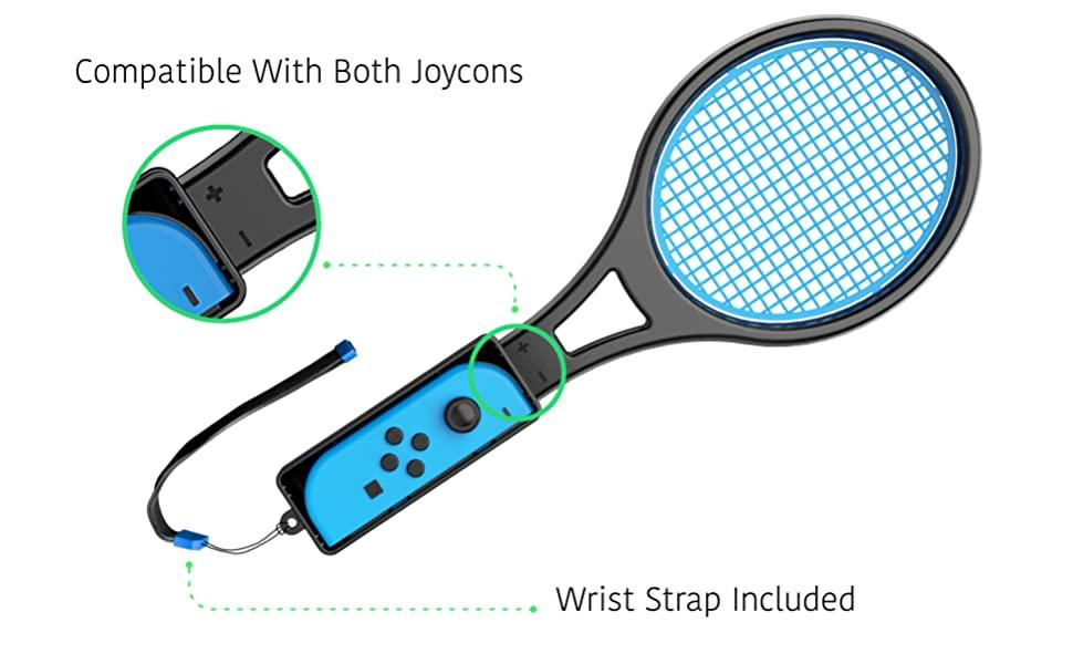 Nintendo Switch Controller Joycon Tennis Racket