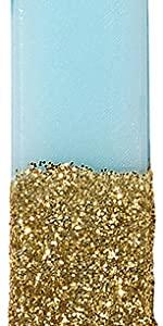 blue number candle
