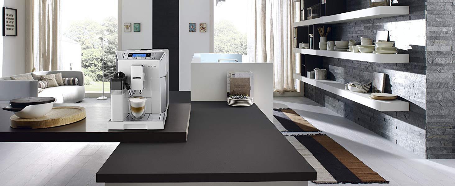 Delonghi Eletta Ecam45.760.w bean to cup coffe machine