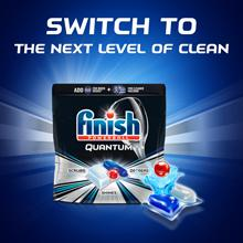 clean cleaner dishes fast effective ultimate performance dishwasher clean shine quantum powerball