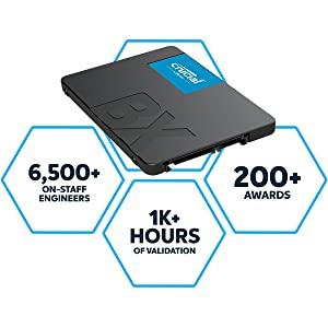 Crucial BX500 SSD Quality