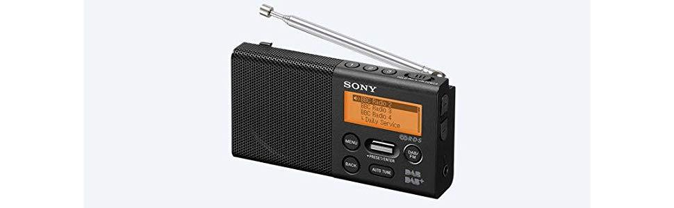 Sony, XDR-P1DBP, Pocket DAB radio