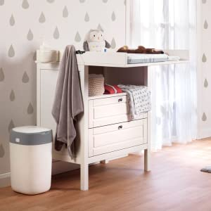 nappy bin, baby nappies, baby nappy disposal, twist and click tommee tippee
