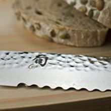 hammered finish beautiful knives kitchen knives that look great