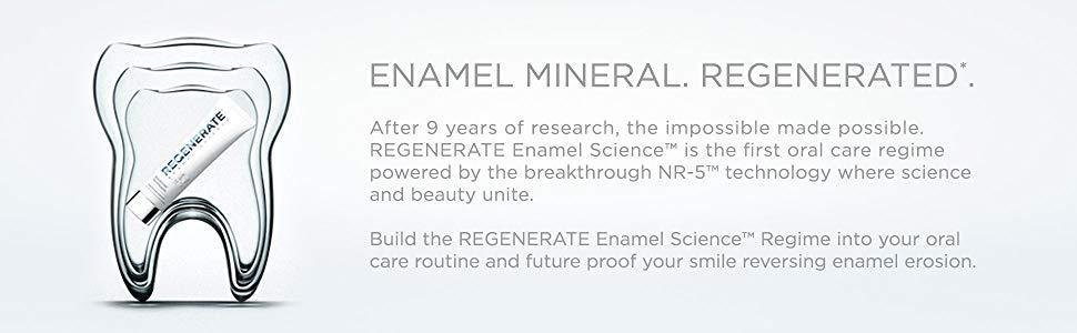 Enamel Mineral Regenerate Enamel erosion