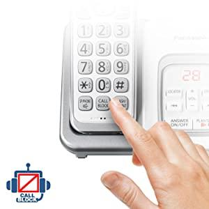 Panasonic KX-TGD533W call block