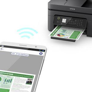 epson, workforce, business printer, home printer, wf-2830, individual inks, cartridges, paper,