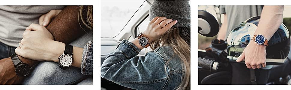 Timex, weekender, watches, man, woman