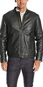 Smooth Leather Classic Moto Jacket