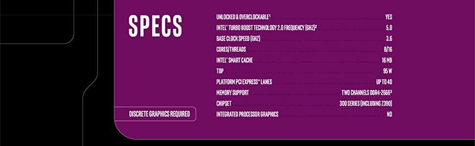 Intel Core i9-9900KF Desktop Processor