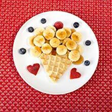 waffles and bananas