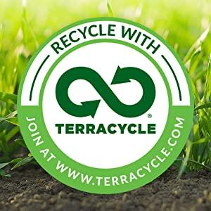 Illustration of TerraCycle logo, recycle with Terracycle - www.terracycle.com