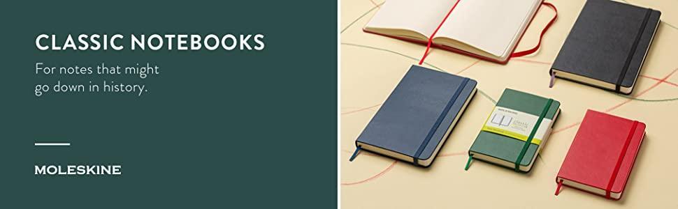 classic notebooks moleskine