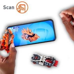 Hot Wheels id Vehicles Embedded NFC Chip Uniquely Identifiable 1:64 Scale Ages 8 and Older