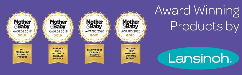Award winning products by Lansinoh