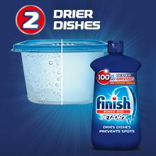 drier dry dishes prevent spots finish jet dry rinse aid stronger formula film resistant performance