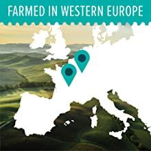 Map of Western Europe where valerian root is farmed and sourced