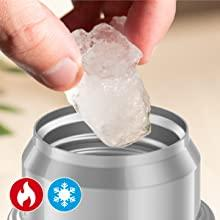 Thermos Vacuum Insulated. Stays hot or cold