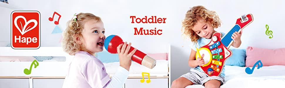 Hape Toys, Toys, Music, Musical, Toddler, Baby, Preschool, Instruments, Sounds