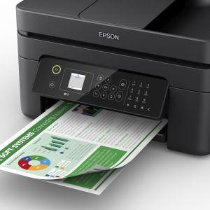 wf-2830, business printer, home printer, workforce, epson, individual inks, cartridge, paper
