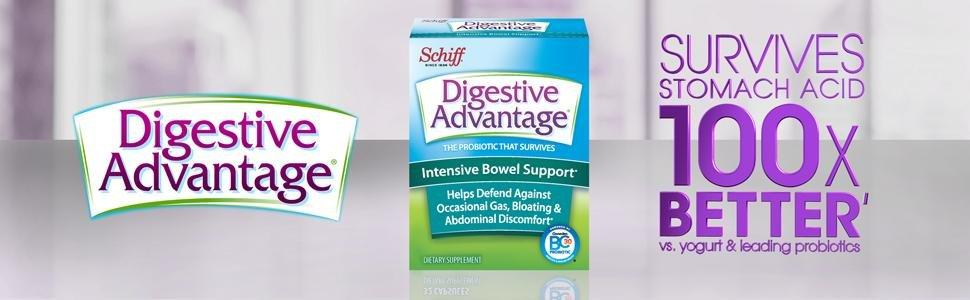 Digestive Advantage Daily Probiotic supplements for men for women for kids capsules gummies