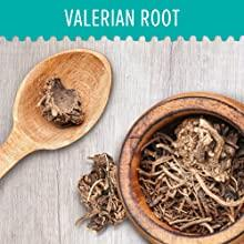 Image of valerian root which helps support a healthy level of GABA which supports sleep