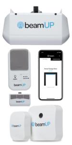 beam beamup garage door garage door opener smart home connected home smart garage alexa ring key