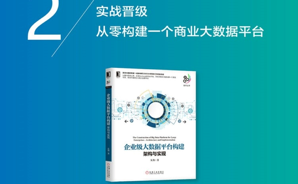 企业大数据系统构建实战:技术、架构、实施与应用
